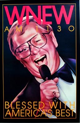 WNEW Mel Torme - Vintage Music Poster at Amazon's