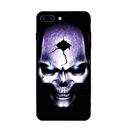 iPhone 7 Plus Case, iPhone 8 Plus Case for Girls, Triplet Skull Protective Case Hybrid Cover Compatible for iPhone 7 Plus and iPhone 8 Plus