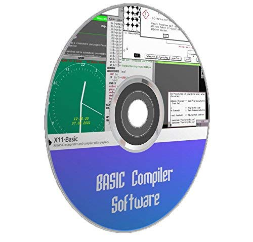 BASIC Programming Language Software Compiler With Graphics X11-Basic  Windows Computer CD