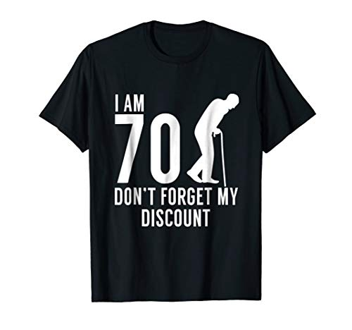 - 70th Bday Party Shirt -Funny 70th Birthday Gag Gift