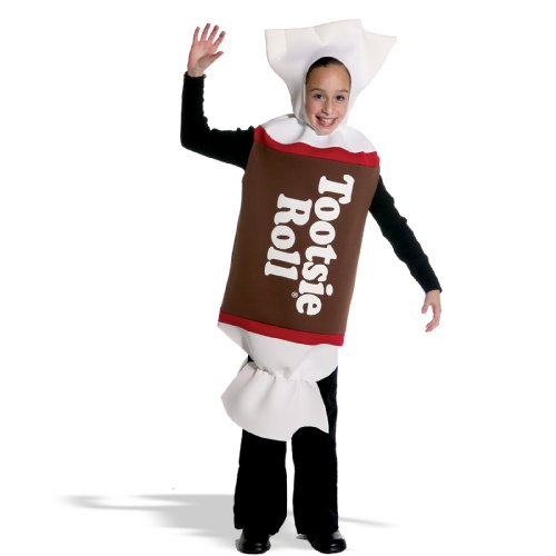 Tootsie Roll Costume - One Size (Tootsie Roll Girls Costume)