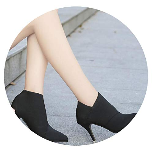 - Women Basic Shoes Autumn and Winter Casual Fitted Female Single Fashion Outwear Shoe,Black,9