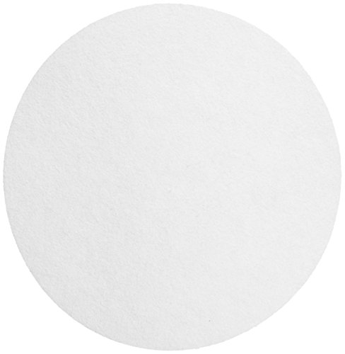 Whatman 10300120 Ashless Quantitative Filter Paper, 240mm Diameter, 4-12 Micron, Grade 589/2 (Pack of 100) by Whatman