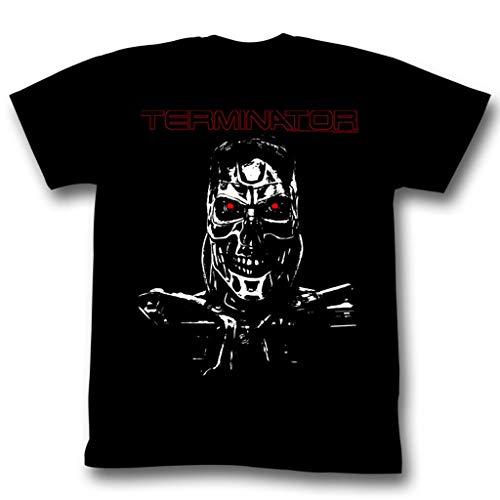 American Classics Terminator Second Term 2X Tall Cotton T-Shirt Black Adult Men's Unisex Short Sleeve T-Shirt