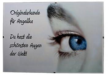 Urkunde für die schönsten Augen der Welt!: Amazon.de: Küche & Haushalt