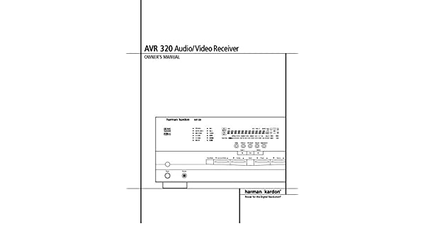 harman kardon avr 320 av receiver owners manual plastic comb jan rh amazon com harman kardon avr 230 manual Curtis 1228 Manual