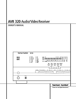 harman kardon avr 320 av receiver owners manual plastic comb jan rh amazon com harman kardon avr 320 service manual Harman Kardon AVR 320 Review