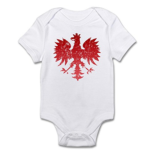CafePress Polish Eagle - Cute Infant Bodysuit Baby Romper (Polish Bodysuit Infant)