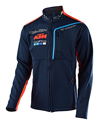 Troy Lee Designs 2017 Team TLD KTM Pit Polar Fleece Jacket-M