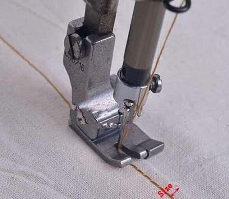 YICBOR - Pie prensatelas completo de acero derecho y ancho para ...
