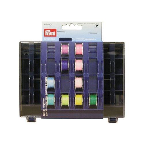 Prym - Caja para bobinas (3 x 13 x 16 cm, 32 compartimentos): Amazon.es: Hogar