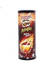 Pringles Potato Chips Hot & Spicy - 130 Grams