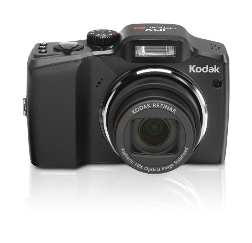 (Kodak Easyshare ZD15 10MP Digital Camera with 10x Optical Image Stabilized Zoom with 2.5 inch LCD (Black))