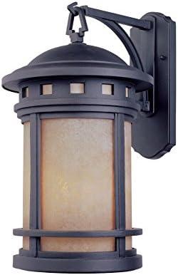 Designers Fountain 2371-AM-ORB Sedona 7 Inch Wall Lantern Renewed