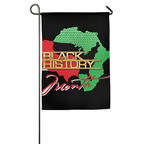 Black History African American Garden Flag Indoor & Outdoor Decorative Flags For Parade Sports Game Family Party Wall Banner,1827inch - Black History Flags