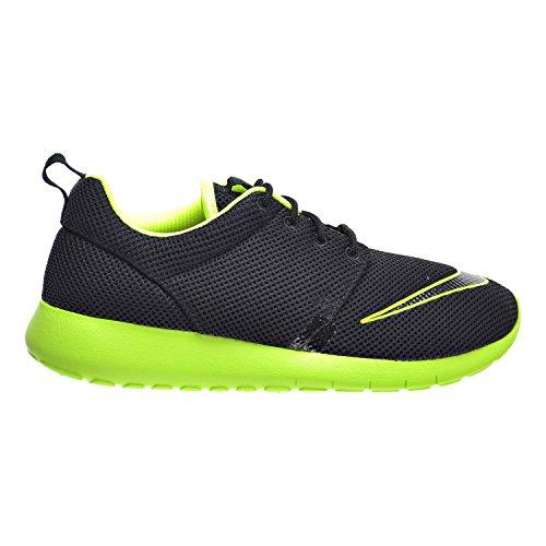 Nike Roshe One Fb (GS) Big Kids Shoes Black/Volt 810513-003