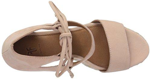 FRYE Womens Roberta Ghillie Wedge Sandal Blush GKVXMUNkRd