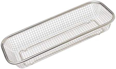 F Fityle ステンレス鋼 水切り バスケット キッチン コランダフルーツ 野菜 洗濯用 2種類 - #1