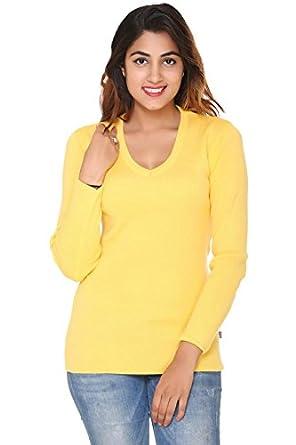 IN Love Women's Pure Wool Winter Wear V-Neck Solid Sweater