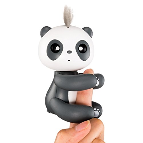 Dtemple Interactive Finger Baby Panda, Smart Electronic Pand