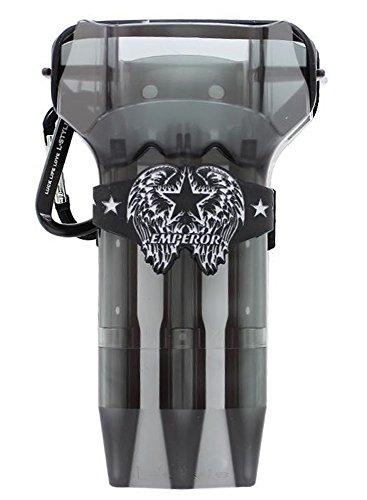 L-style KRYSTAL ONE Dart Case - Clear Black ()
