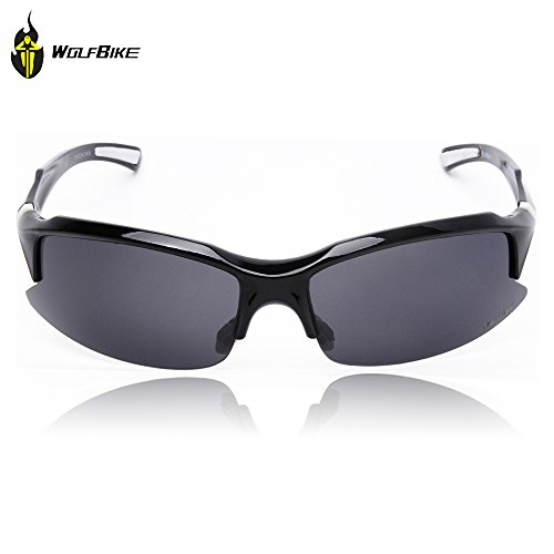 WOLFBIKE UV400 Protection Sports Sunglasses for Cycling Fishing Golf - For Sunglasses Polarised Fishing