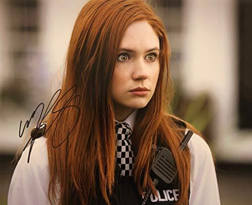 KAREN GILLAN AUTOGRAPHED Hand SIGNED 11x14 Photo w/COA BBC Sci-fi Amy Pond DOCTOR -