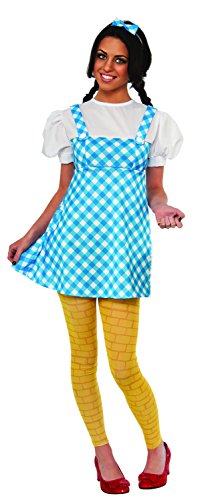 Wizard Of Oz Dorothy Teen Costume, Blue/White/Yellow, X-Small (2)