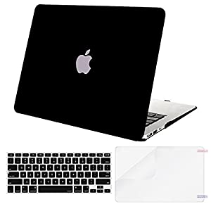 Mosiso Plastic Hard Case with Keyboard Cover with Screen Protector for MacBook Air 13 Inch (Models: A1369 and A1466)