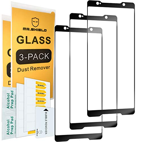 [3-Pack]-Mr Shield For ASUS ROG Phone (ZS600KL) [Japan Tempered Glass] [9H Hardness] [Full Screen Glue Cover] Screen Protector Lifetime Replacement Warranty
