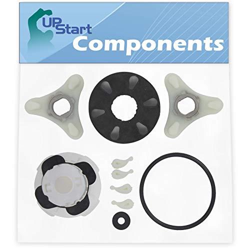 285753A Washer Motor Coupler & 285811 Agitator Repair Kit Replacement for Whirlpool LSC8244BQ0 - Compatible 285753A Direct Drive Motor Coupling Kit & 285811 Medium Cam Agitator Repair Kit