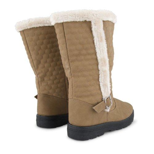 Footwear Sensation - Botas para mujer negro negro negro - caqui