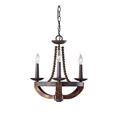 Murray Feiss F2750/3 Adan 3 Light Single Tier Chandelier,