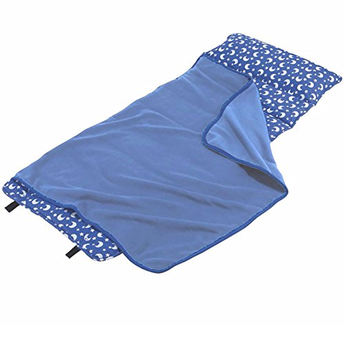 Wildkin Nap Mat - Blue Moon and Star - Made by Wildkin for One Step ()