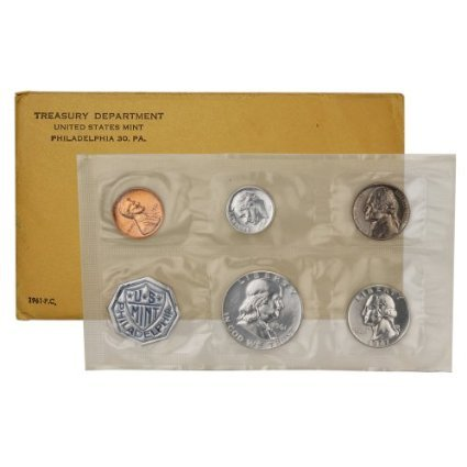 1961 Silver Proof Set in Original Government Packaging Sealed Mint State