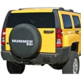 2005-2010 Hummer H3 Soft Tire Cover - Non-reflective - Genuine GM Licensed