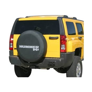 Non-Reflective Logo Boomerang 2005-2010 Hummer H2 Soft Tire Cover Genuine GM Licensed