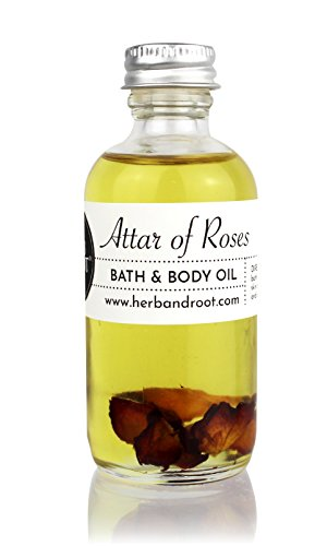 Rose and Sandalwood for Women | Bath, Body, and Massage Oil | Moisturize and Scent the Skin