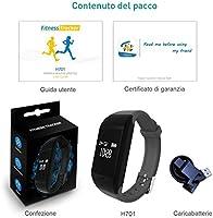 Fitpolo Relojes Inteligente MujerHombreNiño, Pulsera de Actividad con Pulsómetro Pulsera, Deporte Reloj fit Podometro,Monitor de sueño,smartwatch