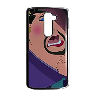LG G2 Cell Phone Case Black Mulan Character The Matchmaker VCE_00876
