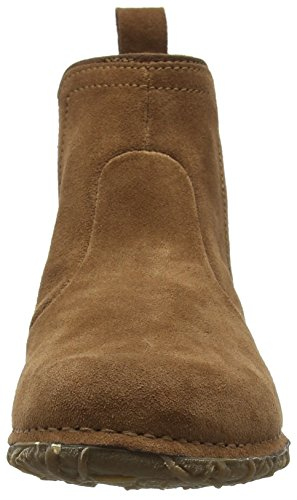 El Naturalista Women's N996 Lux Suede Wood/Angkor Ankle Boots Brown (Wood Nnd) qikvYBlZn