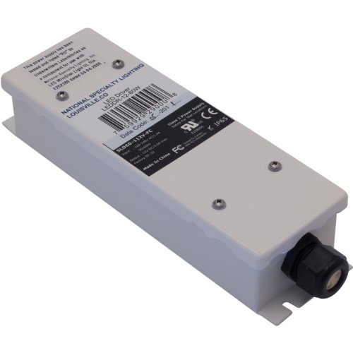 NSL LEDDR-12-60W Class 2 LED Driver 100 - 240 Volt AC Input 12 Volt DC Output 60 Watt Output