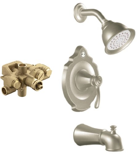 MOEN T2606BN-3520 Vestige Moentrol Tub/Shower Valve Trim ...