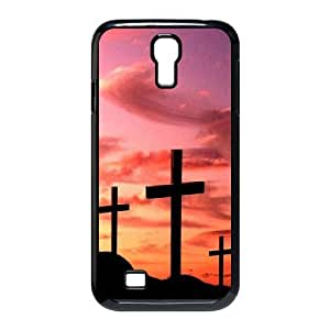 Cross The Unique Printing Art Custom Phone Case for SamSung Galaxy S4 I9500,diy cover case ygtg548332