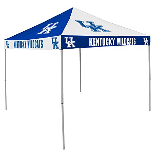 NCAA Kentucky Wildcats 9-Foot x 9-Foot Pinwheel Tailgating Canopy, Blue/White