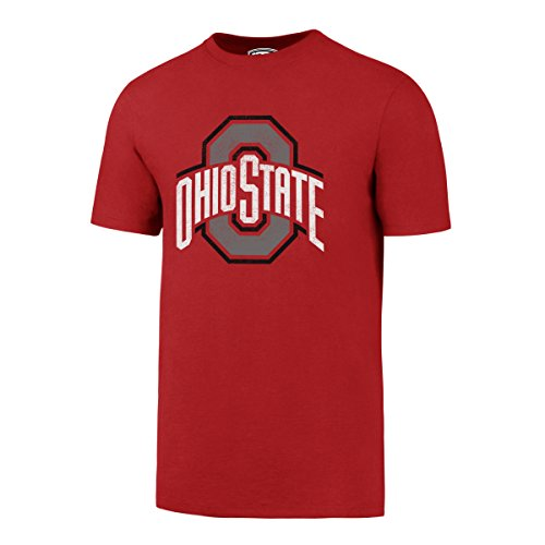 NCAA Ohio State Buckeyes Men's OTS Rival Tee, Medium, Red (Ohio State Basketballs)