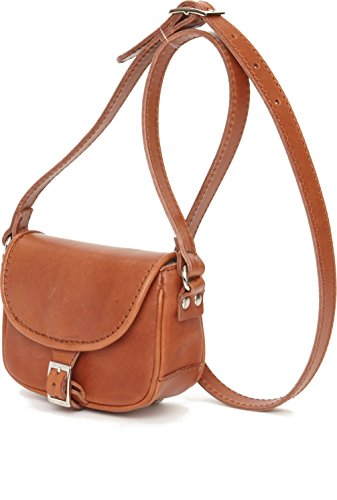 Catanina pochette Cognac in pelle in Catanina pochette OORzwn5xr6