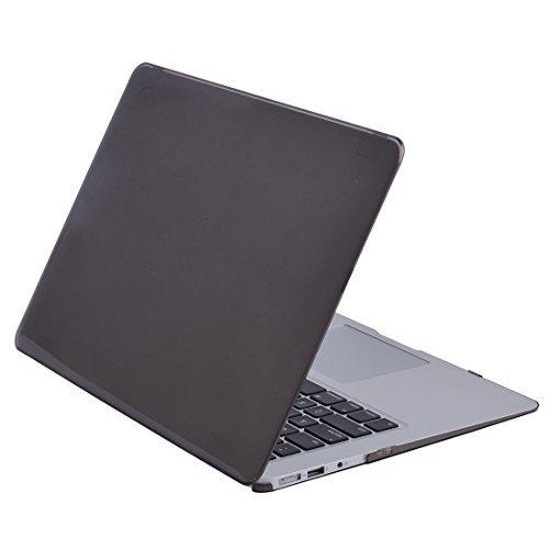 Amazon.com: eDealMax plástico Brillante Duro cristalino de la cubierta protectora del caso Grey Para 13inch de Apple MacBook Air: Electronics