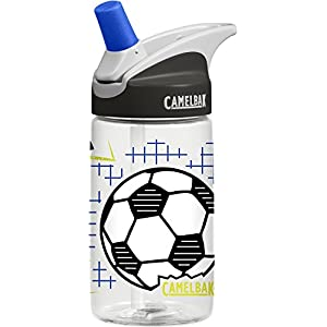 CamelBak Eddy Kids Water Bottle, Goal!, .4 L