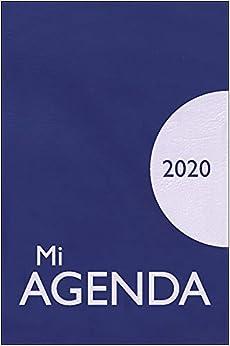 Mi Agenda 2020 Opaca: funda en plástico serigrafiada (Calendarios y agendas)